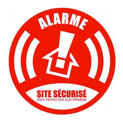 alarme autocollant dissuasion mon alarme maison sans fil. Black Bedroom Furniture Sets. Home Design Ideas