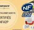 Comparatif des kits d'alarme maison sans fil certifiés NFA2P