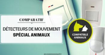Comparatif des détecteurs de mouvement pour animaux domestiques