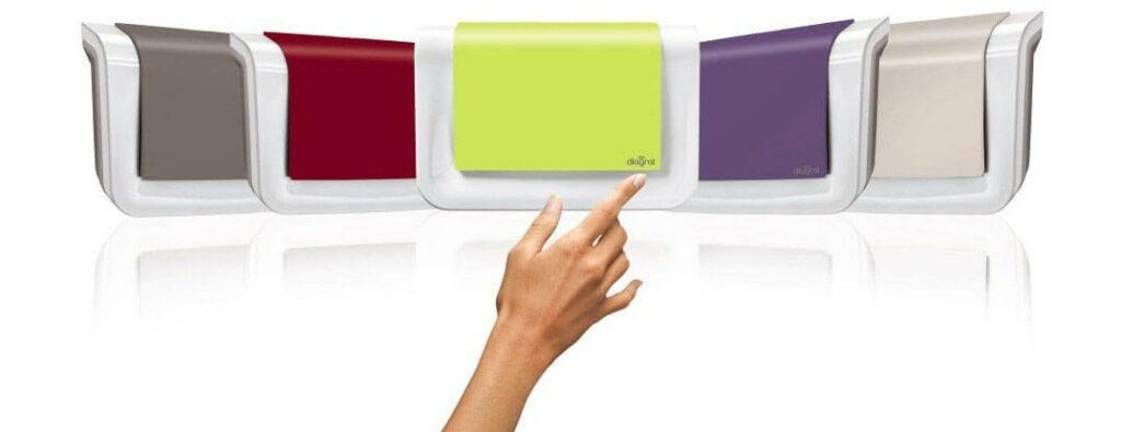 La centrale d'alarmeDiagralDIAG90AGFK disponiblesen 5 coloris