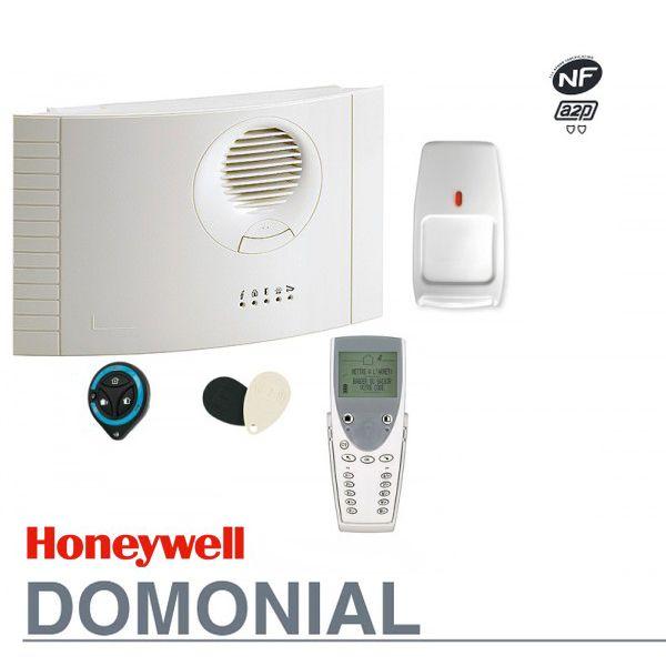 Ensemble d'alarme sans fil Honeywell Domanial avec certificat blindé NFA2P 2