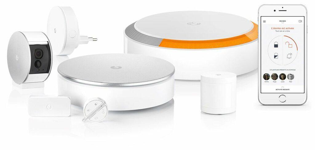 Système de sécurité sans fil connecté Somfy / MyFox Home Alarm et sa Security Camera