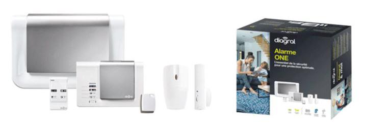 kit alarme diagral beautiful alarme diagral one animaux u. Black Bedroom Furniture Sets. Home Design Ideas