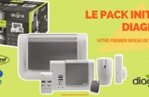 Le pack d'alarme maison sans fil Digral Initial certifié NFa2p 2 boucliers