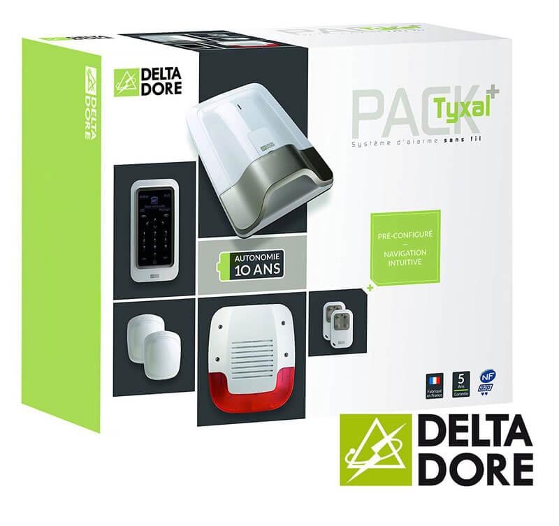 alarme maison sans fil delta dore avie home. Black Bedroom Furniture Sets. Home Design Ideas