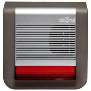 La sirène extérieure flash Diagral (réf. DIAG50AAX)