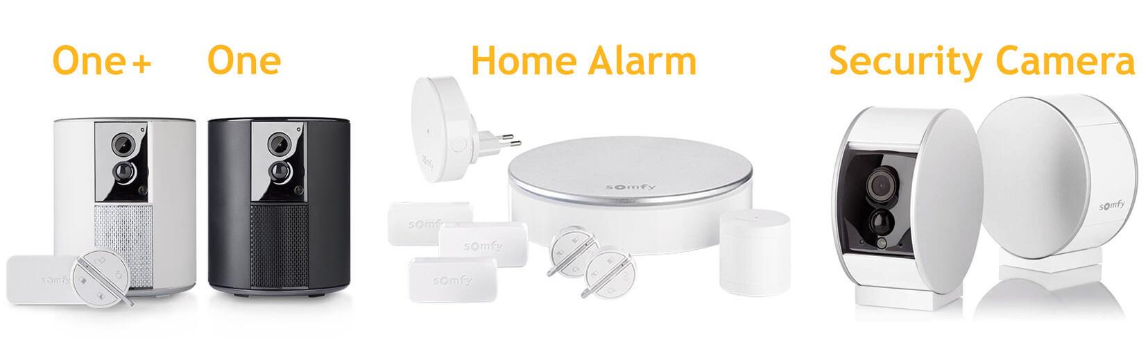 Comparatif Des Alarmes Maison Sans Fil Connect Es Somfy Protect